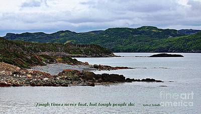 Photograph - Tough People Last by Barbara Griffin