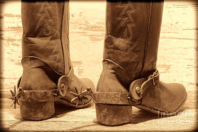 Photograph - Tough Spurs by American West Legend By Olivier Le Queinec