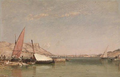 Painting - Toulon  by Edward William Cooke