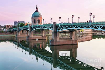 Landmarks Photograph - Toulouse At Sunset by Elena Elisseeva
