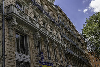 Toulouse Balconies Art Print