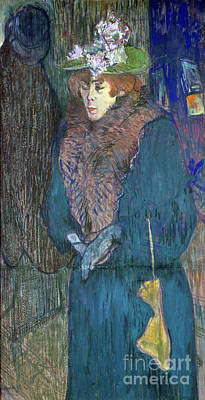 Of Painter Photograph - Toulouse-lautrec: J.avril by Granger