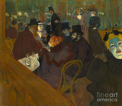 Toulouse-lautrec Moulin Rouge Art Print by Granger