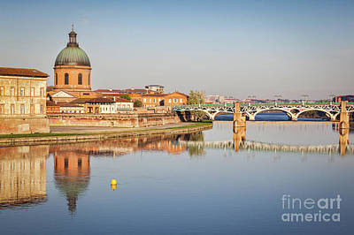 Toulouse Reflection 2 Art Print by Colin and Linda McKie