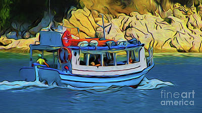 Photograph - Tour Boat 17118 by Ray Shrewsberry