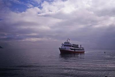 Photograph - Tour Boat San Francisco Bay by Frank DiMarco