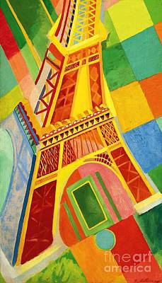 Painting - Tour Eiffel by Pg Reproductions