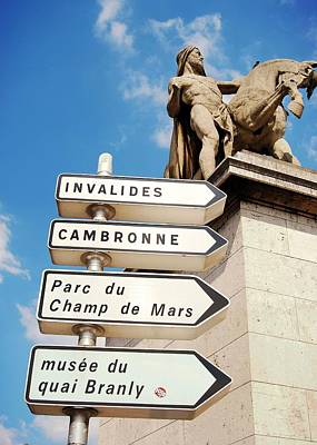 Photograph - Tour Paris by JAMART Photography
