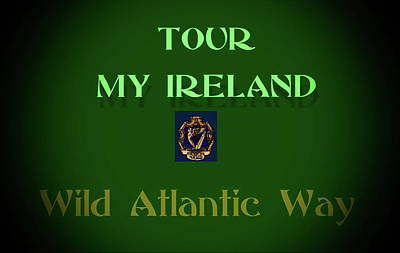 Painting - Tour The Wild Atlantic Way by Val Byrne