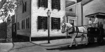 Painting - Touring Charleston by Michel McNinch