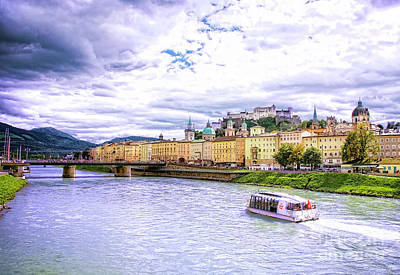 Photograph - Touring Salzburg by Scott Kemper