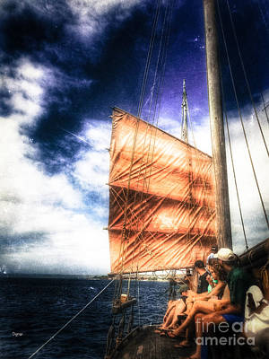 Chinese Junk Photograph - Tourism By Bonaire  by Steven Digman