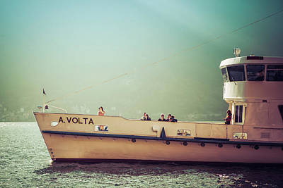 Photograph - Tourist Ferry-boat by Alfio Finocchiaro