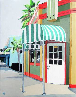 Painting - Tourist Town by Melinda Patrick