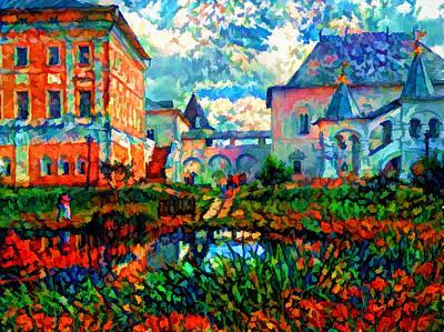 Digital Art - Touristic Site by Yury Malkov