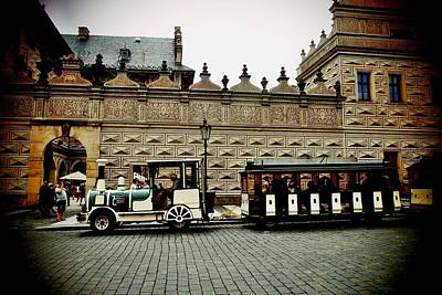 Photograph - Touristic Train In Prague by Dora Hathazi Mendes