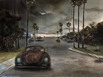 Baselitz Painting - Tourmaline  by Antonio Ortiz