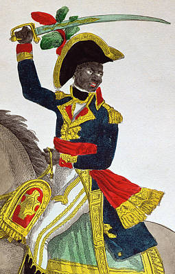 Slaves Painting - Toussaint Louverture by French School