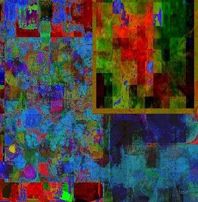 Yesayah Digital Art - Tout En Couleurs  by Fania Simon