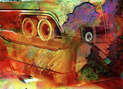 Digital Art - Touty Tail by Greg Sharpe
