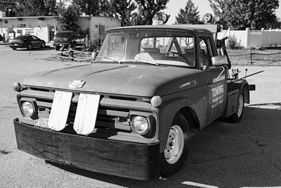 Photograph - Tow Truck On Route 66 by John McGraw