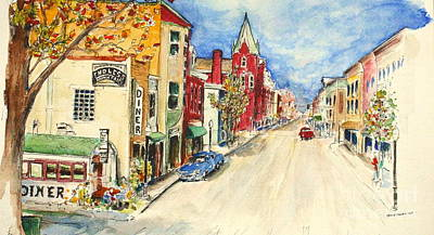 Painting - Towanda Pa by Melanie Stanton