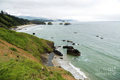 Photograph - Toward Cannon Beach by Jon Burch Photography