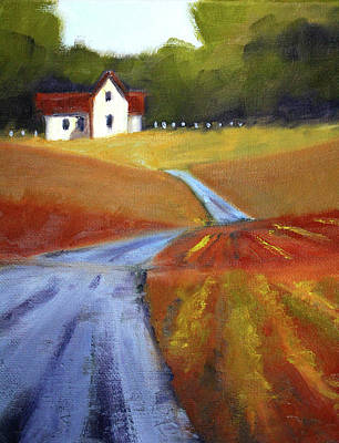 Painting - Toward Home by Nancy Merkle
