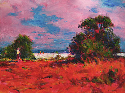 Painting - Toward The Beach by Vernon Reinike