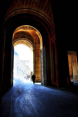 Paris Skyline Royalty-Free and Rights-Managed Images - Toward the Light Paris by Evie Carrier