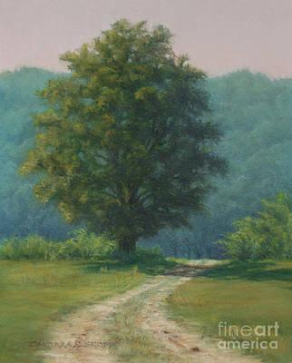 Salem Cross Inn Painting - Toward The Pasture - Farm At Salem Cross Inn by Barbara Groff