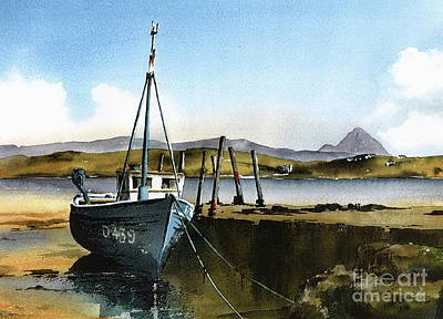 Painting - Towards Bunbeg And Errigal, Donegal by Val Byrne