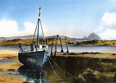 Painting - Towards Bunbeg  Donegal by Val Byrne