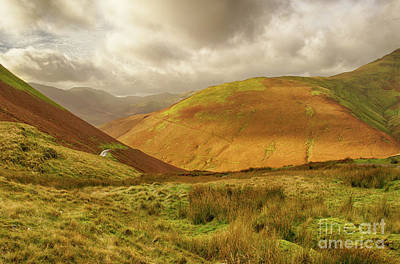 Photograph - Towards Buttermere by Linsey Williams