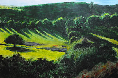 Painting - Towards Corwen by Harry Robertson