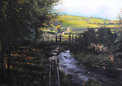 Painting - Towards Llanferres by Harry Robertson