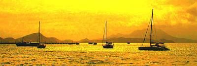 Photograph - Towards Nevis by Ian  MacDonald