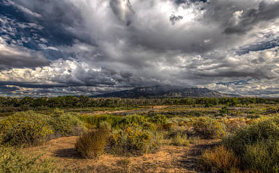 Photograph - Towards Sandia Peak by Ross Henton