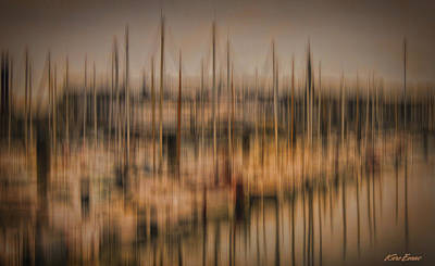 Photograph - Towards St Malo by Karo Evans