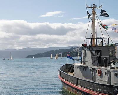 Photograph - Towards The Harbor by Brandy Herren