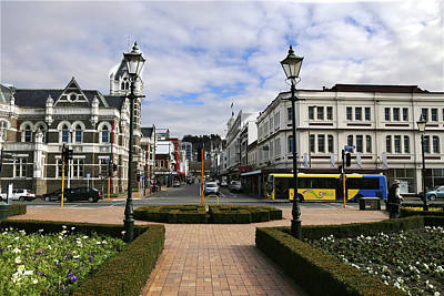 Photograph - Towards The Octagon Dunedin by Nareeta Martin