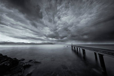 Photograph - Towards The Storm by Dominique Dubied