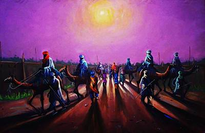 Towards Zaria Art Print by Aderonke ADETUNJI