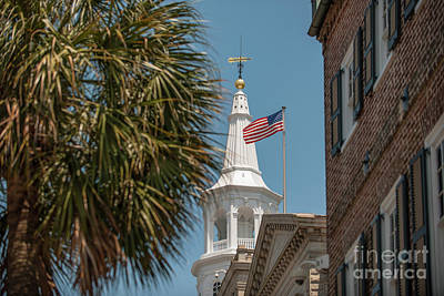 Photograph - St. Michaels Church In Charleston by Dale Powell