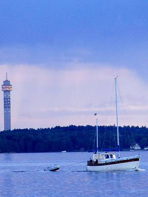 Tower And Masts Art Print