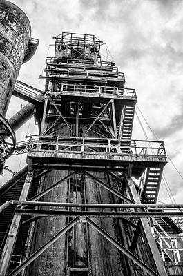 Photograph - Tower At Bethlehem Steel by Bill Cannon