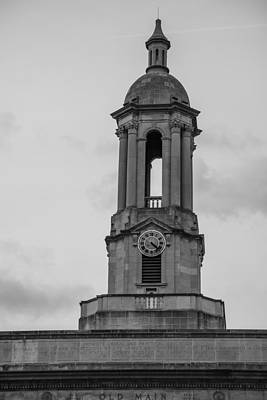 Penn State University Photograph - Tower At Old Main Penn State by John McGraw