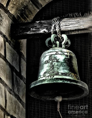 Tower Bell Art Print by Danuta Bennett
