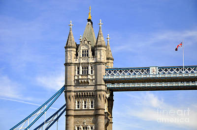 Photograph - Tower Bridge 2 by Andrew Dinh