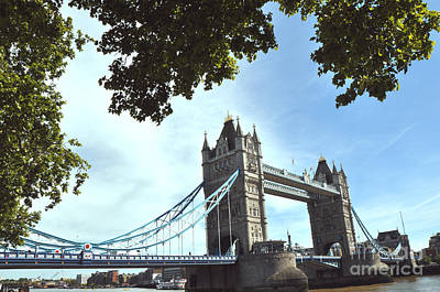 Photograph - Tower Bridge 3 by Andrew Dinh